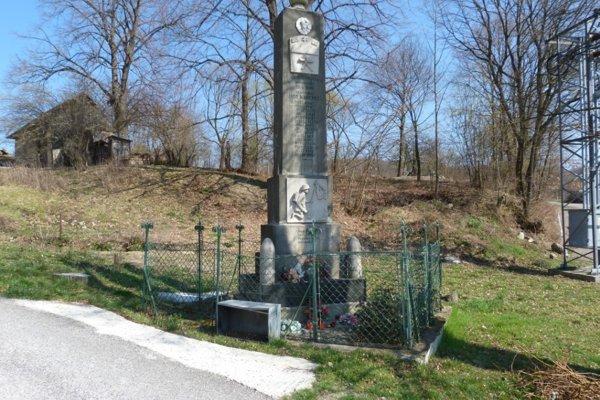Pamäník padlým v 1. sv. vojne.