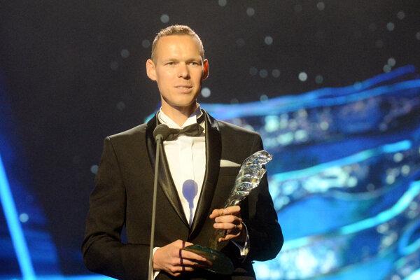 Matej Tóth s prestížnym ocenením.