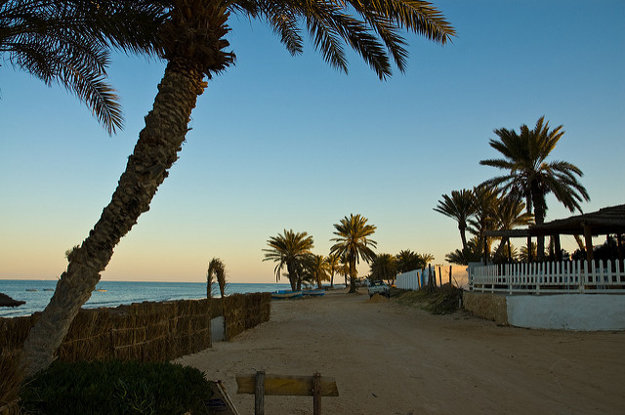 Djerba, Tunisko.