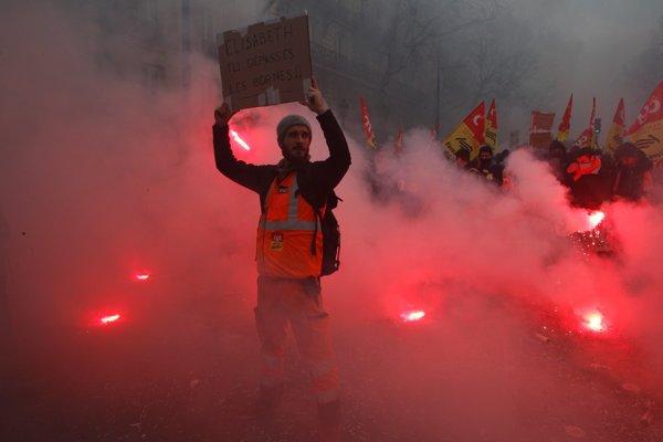 Francúzi opäť štrajkujú.