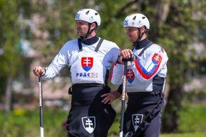 Slovenskí deblisti Pavol a Peter Hochschornerovci.