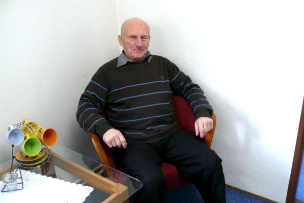 Alexander Lilge, predseda Výboru mestskej časti Martin - stred.