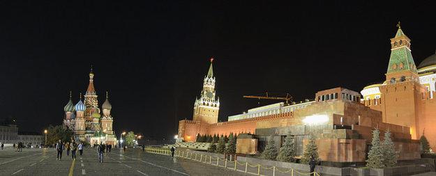 Červené námestie v Moskve.
