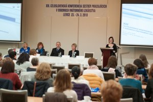 Počas konferencie zdravotných sestier odznelo v Leviciach 21 prednášok.