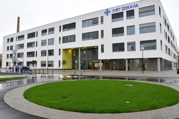 Budova novej nemocnice v Michalovciach.