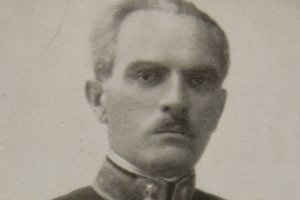 Hrdinský nadporučík Zoltán Laczhegyi.
