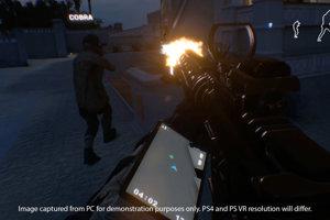 Zábery z FPS hry Firewall Zero Hour.