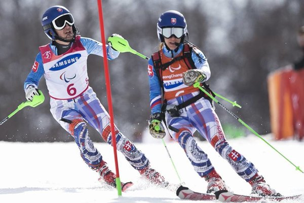 Marek Kubačka štartovať na paralympijských hrách štvrtýkrát. Prvý raz s navádzačkou Máriou Zaťovičovou.