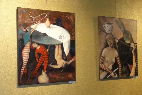 Výstava Sone Mrázovej v Galérii Foyer v SDKS potrvá do 4. mája.