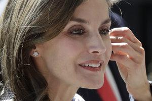 Španielska kráľovná Letizia.
