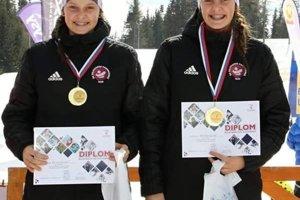 Sestry Remeňové absolútne ovládli šprint dvojíc na majstrovstvách Slovenska v behu na lyžiach.