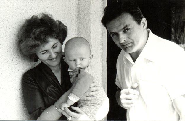 Jozef Babiak s rodinou