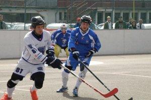 Pov. Bystrica (v bielom) vyhrala doma jeden zápas.