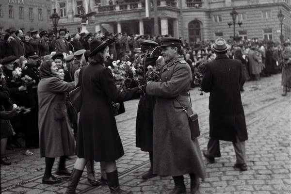 Oslobodenie Bratislavy 1945.