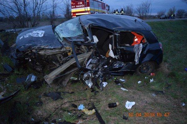 Mladík nehodu  neprežil.