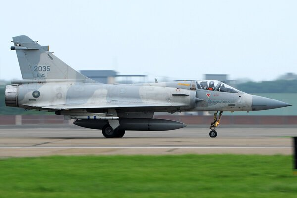 Lietadlo Dassault Mirage 2000-5.