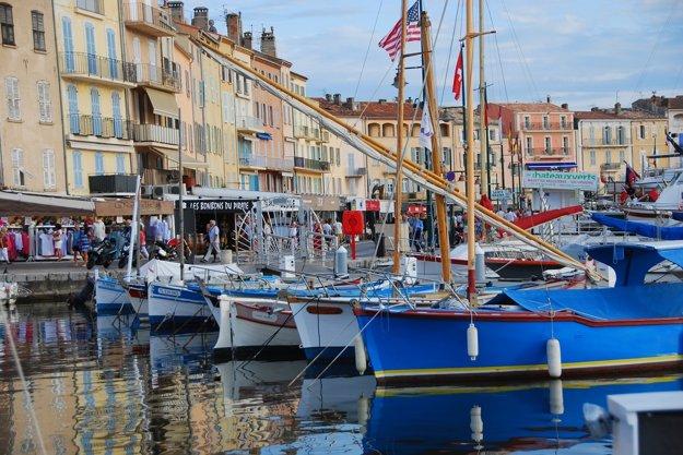 Prístav v Saint Tropez