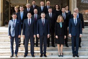 22. marec 2018. Nová vláda.