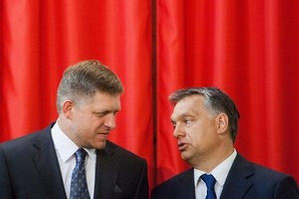 Fico a Orbán.