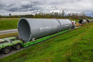 Stavba prvého európskeho hyperloopu sa začala vo francúzskom meste Toulouse.