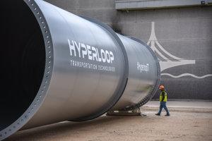 Tunel prvej európskej trate hyperloop.