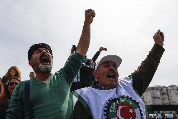 Okupačné protesty sa konali vo všetkých 81 tureckých provinciách.