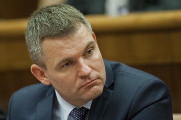 Nový predseda parlamentu Peter Pellegrini.