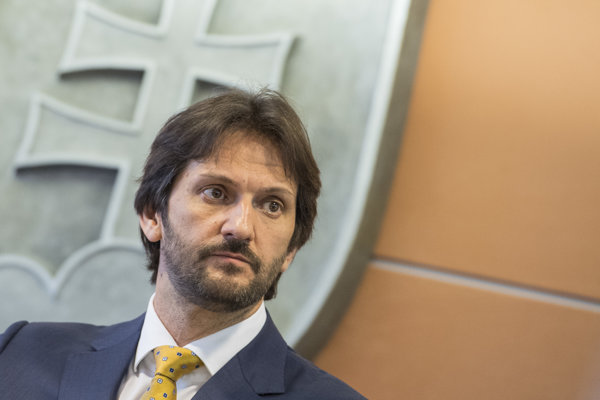 Exminister Robert Kaliňák.