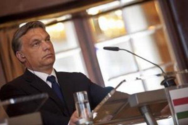 Maďarský premiér Viktor Orbán.