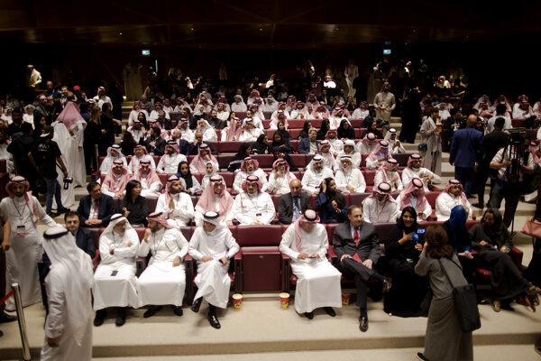 V Saudskej Arábii otvorili prvé kino po takmer 35 rokoch.