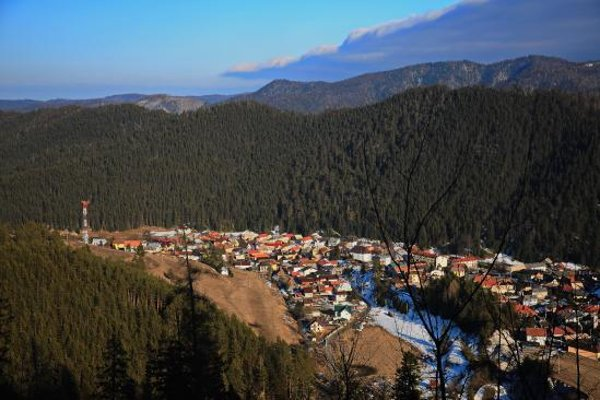 Obec Vernár.