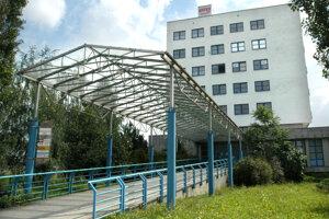 Bývalé priestory na Moldavskej.
