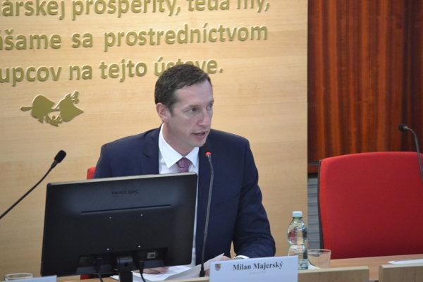 Župan Milan Majerský nechcel konkretizovať dôvody odvolania riaditeľov, povie im ich medzi štyrmi očami.