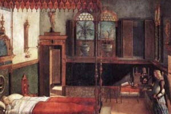 Sen svätej Uršule od Vittora Carpaccia (1460 - 1525).