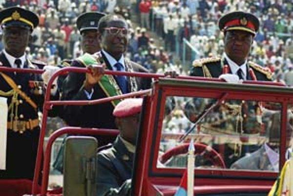 Prezident Zimbabwe Robert Mugabe.