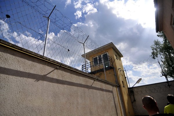 Zrekonštruované priestory Ústavu na výkon trestu odňatia slobody v Dubnici nad Váhom.