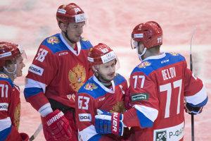 Ruská reprezentácia triumfovala proti Česku.