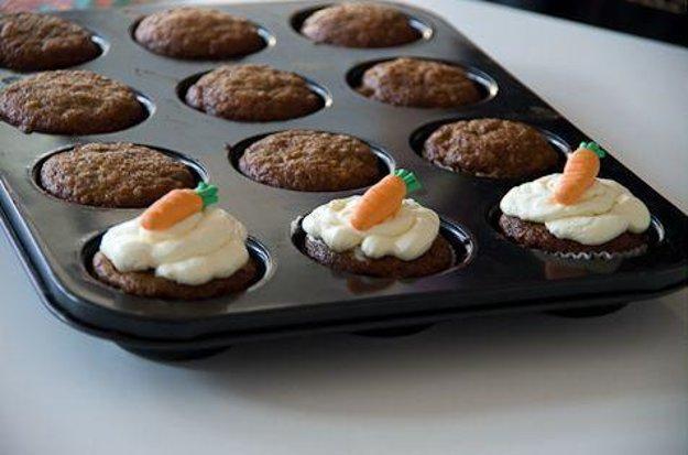 Cupcake mrkváčik
