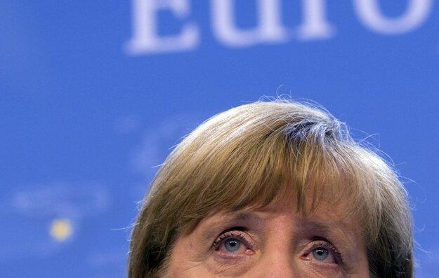 Priznanie porážky Merkelovej politiky nepáli hneď kožu. FOTO: ARCHÍV SME