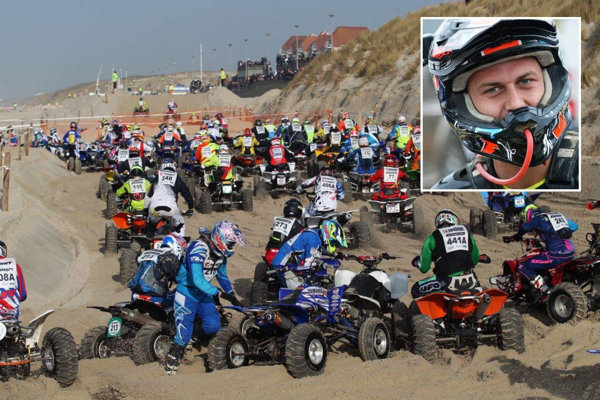 Juraj Varga sa zúčastnil aj na najväčších pretekoch štvorkoliek vo francúzskom Calais.