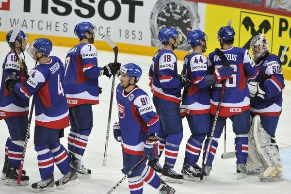 Slováci naposledy Čechov porazili na majstrovstvách sveta v roku 2012.