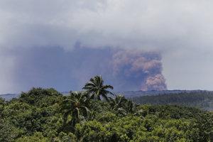 Sopka Kilauea je jedným z najaktívnejších vulkánov na svete.
