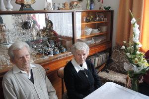 Manželia Juríkoví.