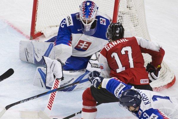 Patrik Rybár bol v zápase proti Rakúsku oporou svojho tímu.