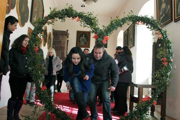 Valentínske podujatie na zámku je medzi návštevníkmi obľúbené.