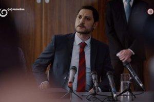 Pavol Michalka ako minister v seriáli Za sklom končí.