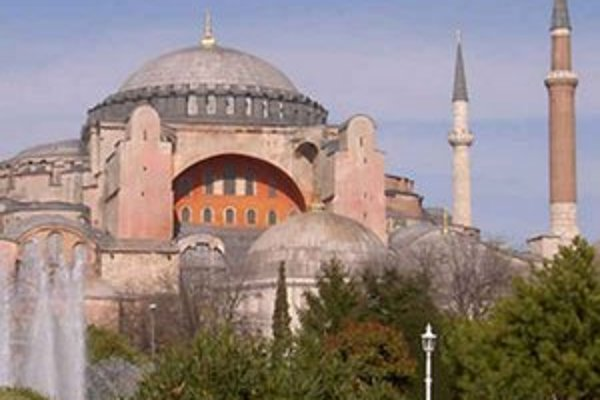 Chrám Hagia Sofia.