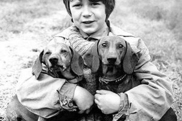 Tomáš miloval zvieratá. Jeho detským snom bolo stať sa veterinárom.
