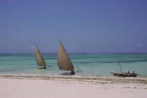 Zanzibar je známy aj svojimi plážami.
