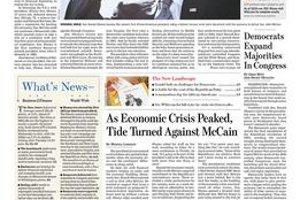 Wall Street Journal patrí medzi vplyvné noviny.